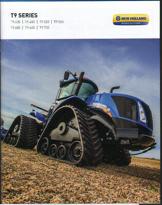 """New Holland """"T9 Series"""" Articulated Tractor Brochure Leaflet"""
