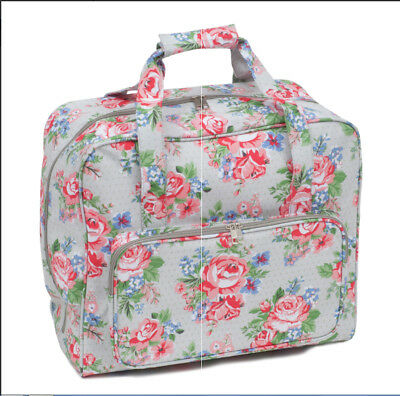 Sewing Machine Bag Sewing Machine Case Rose Design PVC Sewing Machine Bag
