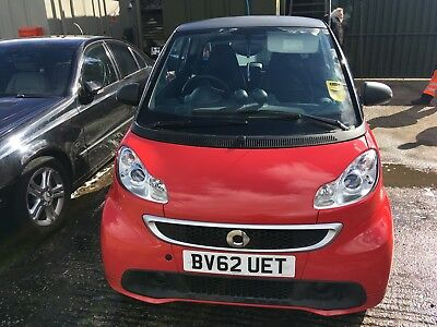 2012 Smart Fortwo Coupe Pulse Mhd 2Dr Softouch Auto *no Key