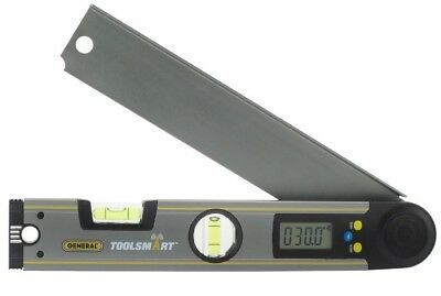 "General TS02 ToolSmart Digital Angle Finder, 2"" x 12"""
