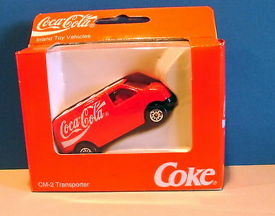 COCA COLA  Brand Toy Vehicles CM-2 Transporter VW Caravelle rot/ Edocar 1991