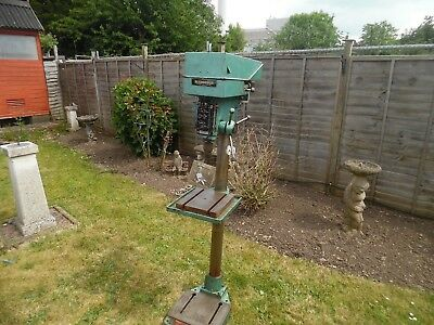 Meddings (Ivybridge) Floor Standing Pillar Drill. Converted to single phase 240v