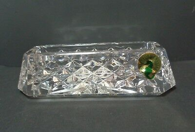 Waterford crystal westover business card holder 3950 picclick waterford crystal westover business card holder colourmoves