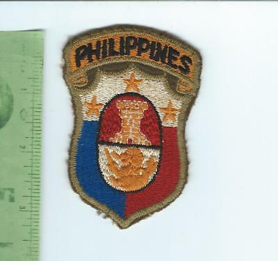 WWII US Army Philippines General Staff   patch