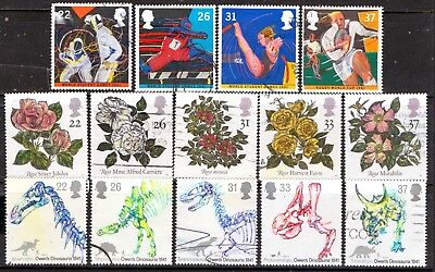 QEII 1991  3 used Commemorative sets (j240)