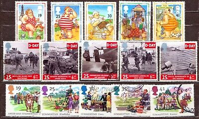 QEII 1994  3 used Commemorative sets (j569)
