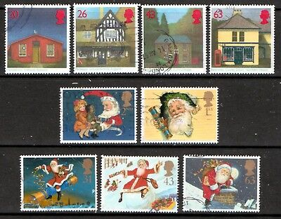 QEII 1997 Sub Post Offices & Xmas used sets (j939)