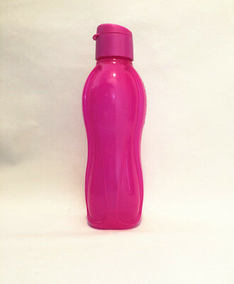 Tupperware Large 1 L Eco Water Bottle Electric Pink NEW