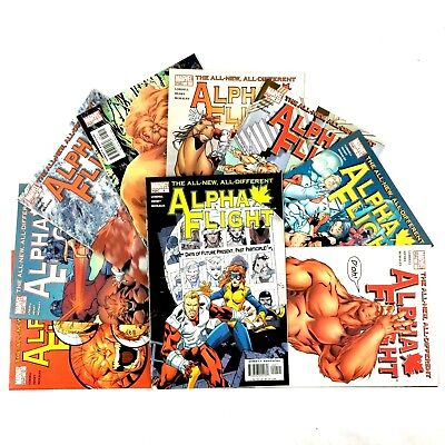 Alpha Flight 9 Issue Comic Book Lot Marvel VF NM 2004 Series 2 3 4 5 7 8 9 10 12