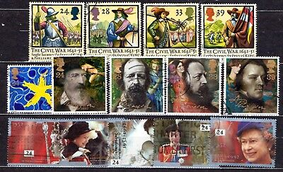 QEII 1992  3 used Commemorative sets (j242)