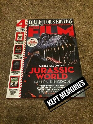 Total Film Jurassic World Collectors Edition Roaring Indoraptor Cover June 2018.