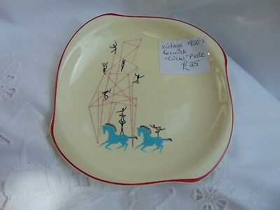 Vintage Beswick - 1950's Circus Plate - Wonderful Condition