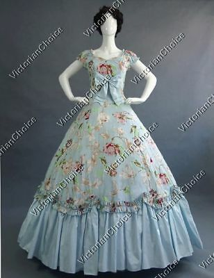 Victorian Belle Princess Alice in Wonderland Tea Party Dress Theater N 273 M