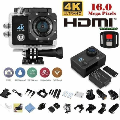 SPORT GO ACTION CAM WiFi REMOTE HD 1080p ACTION PRO CAMERA SUBACQUEA TELECOMANDO