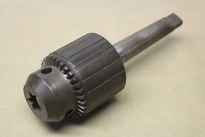 """Jacobs No. 34 0 - 1/2"""" (0 - 13mm) Keyed Drill Chuck On Morse Taper MT2 Abor"""
