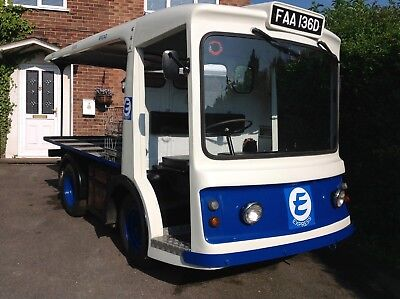 Morrison Electric Milk Float 1966 Express Dairy