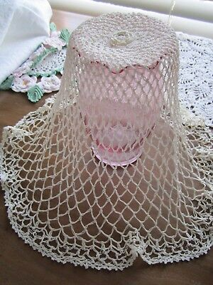 Whatever it is..it's beautiful!  Antique Hairpin and Irish crocheted delicate