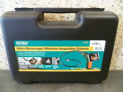 Extech Instruments Video Borescope/Wireless Inspection Camera BR200 - TESTED