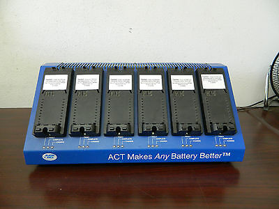 ACT Two-way Radio Battery Charger i60 A-MOT14 XTS3000 TBC-60A Activator vi