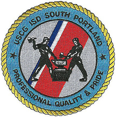 Integrated Support Depot South Portland Maine W3249 USCG Coast Guard patch