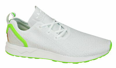in stock b11c5 dfe4b Adidas Originals ZX Flux Adv Asym Mens Trainers Lace Up Shoes White AQ3166  D27