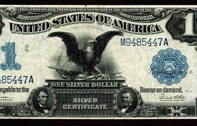 $1 1899 ::: BLACK EAGLE ::: Silver Certificate ** MORE CURRENCY FOR SALE