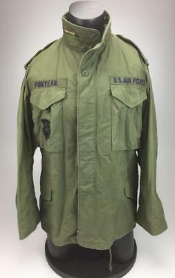 M65 Cold Weather Field Coat US Air Force Space Command Medium Short 1979