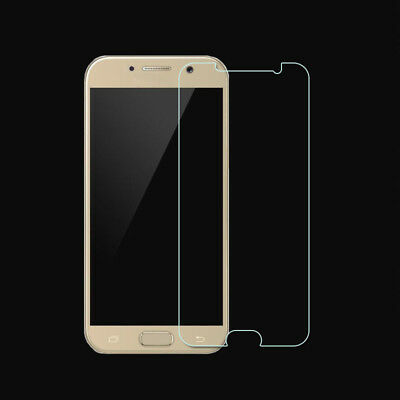 5X For Samsung Galaxy A3 A5 A7 (2017)Real Tempered Glass Screen Protective Film