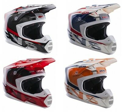 EVS Adult MX ATV Motocross Helmet T5 Vector XS-2XL