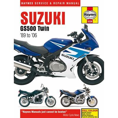 Manual Haynes for 2008 Suzuki GS 500 F-K8 (GM51A) (Fully Faired Model) (USA