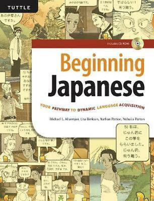 Beginning Japanese by Michael L. Kluemper Book & Merchandise Book Free Shipping!