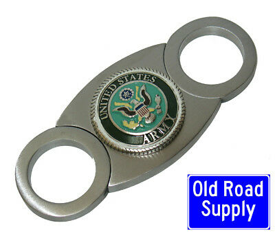 Old Road US Army Green Stainless Cigar Cutter Carry Pouch