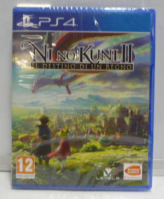 Ni No Kuni 2 Revenant Kingdom Il Destino Di Un Regno Ps4 New Sealed Ita