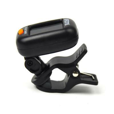 Aroma AT-101 Mini Clip on Tuner For Chromatic Guitar Bass Violin Ukulele