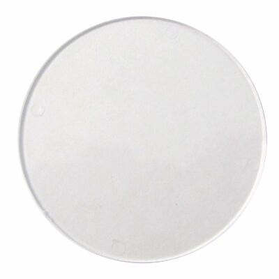Tax Disc Holder Replacement Round Perspex Glass
