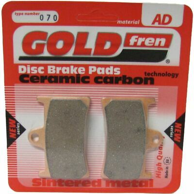 Brake Disc Pads Front R/H Goldfren for 1990 Yamaha FZR 400 RR SP (EXUP) (3TJ2)