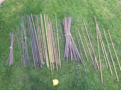 LARGE LOT of MIXED VARIOUS STAIR RODS for PROJECT / RESTORATION