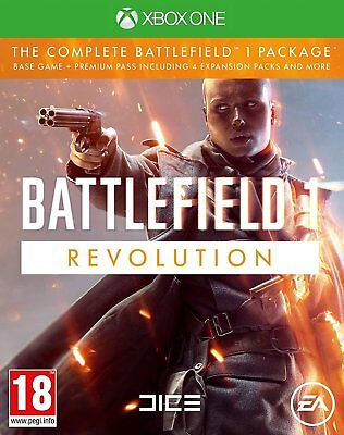 Battlefield 1 Revolution For XBOX One (New & Sealed)