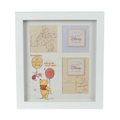 Disney Magical Beginnings Collage Photo Frame Pooh Bear Nursery Baby Shower Gift