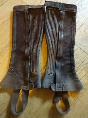 (r8) extra small ladies chaps  *REDUCED POSTAGE**