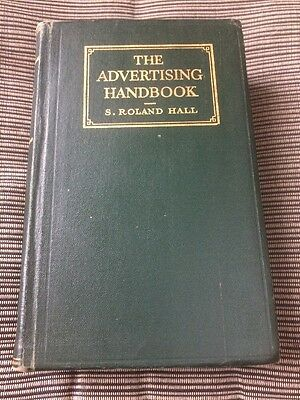 The Advertising Handbook Roland Hall Vintage Book 1930