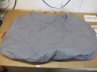 "Graco Baby Crib Mattress Fitted, Padded Sheet 39 X 27"" Gray  Fast/free Shipping"