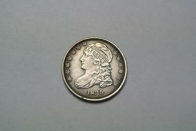 1835 Capped Bust Dime, XF Condition - C5671