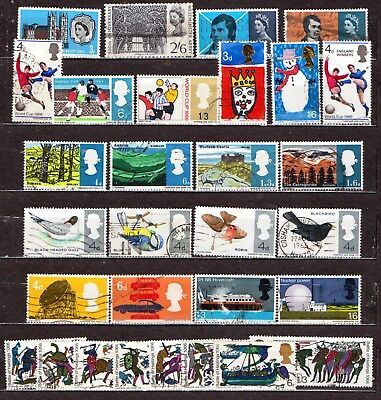 QEII 1966 Yearset  9 used Commemorative sets (j478)