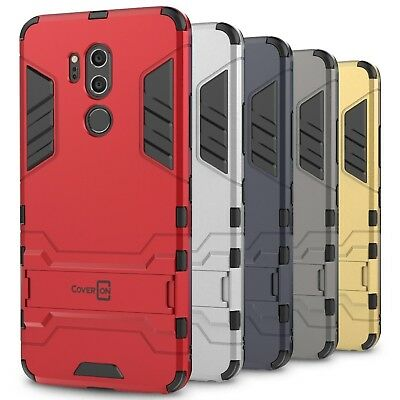 CoverON for LG G7 ThinQ Case Hybrid Stand Armor Kickstand Hard Slim Phone Cover