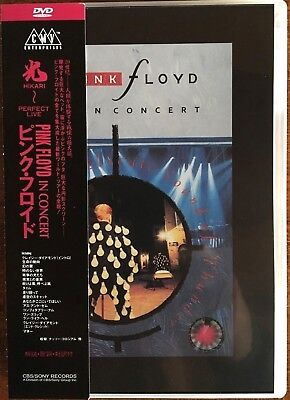 """Pink Floyd """"delicate Sound Of Thunder"""" Rare Dvd Live Neuf !"""