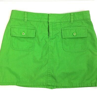 Lilly Pulitzer Skort 12 Green Skirt Golf Tennis Summer Everyday Casual Party