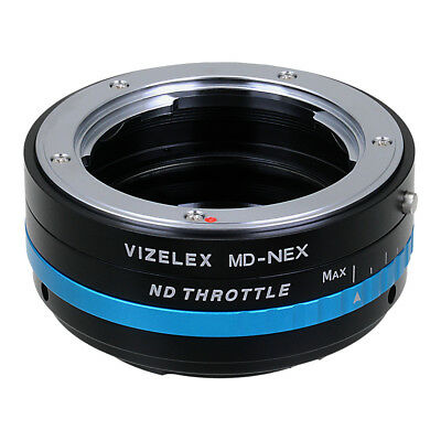 Vizelex ND Throttle Lens Adapter Minolta (SR/MD/MC) Lens to Sony E-Mount/NEX