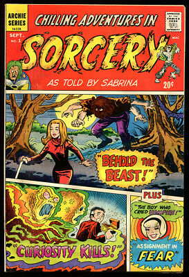 Chilling Adventures In Sorcery 1 5.0 Vgf 1972 Archie Sabrina Vampire