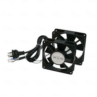Titan AV Dual 240V Roof Mount Cooling Fan Kit - Server Rack Data Cabinet